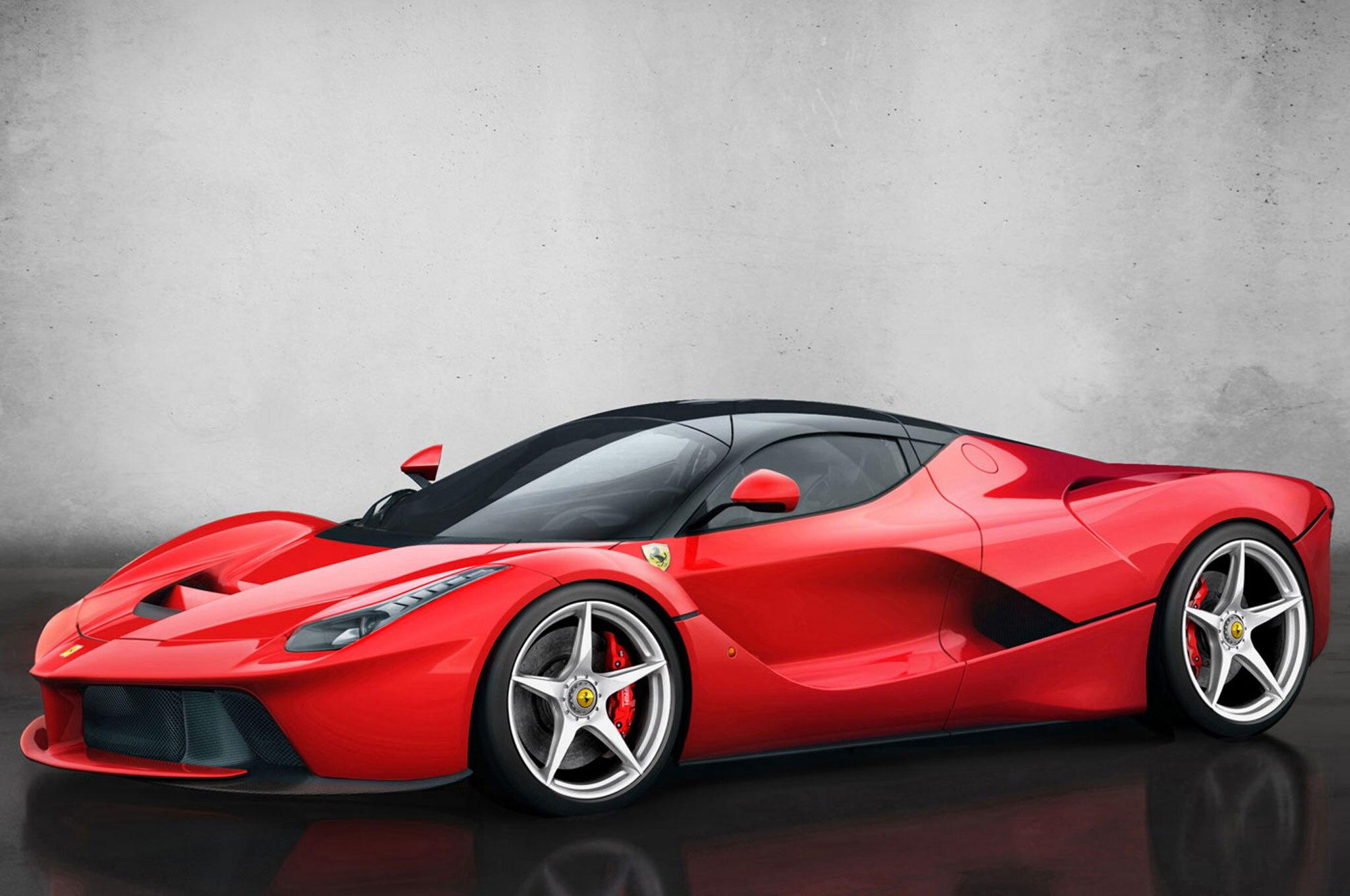 Ferrari LaFerrari Front Leftt Side1