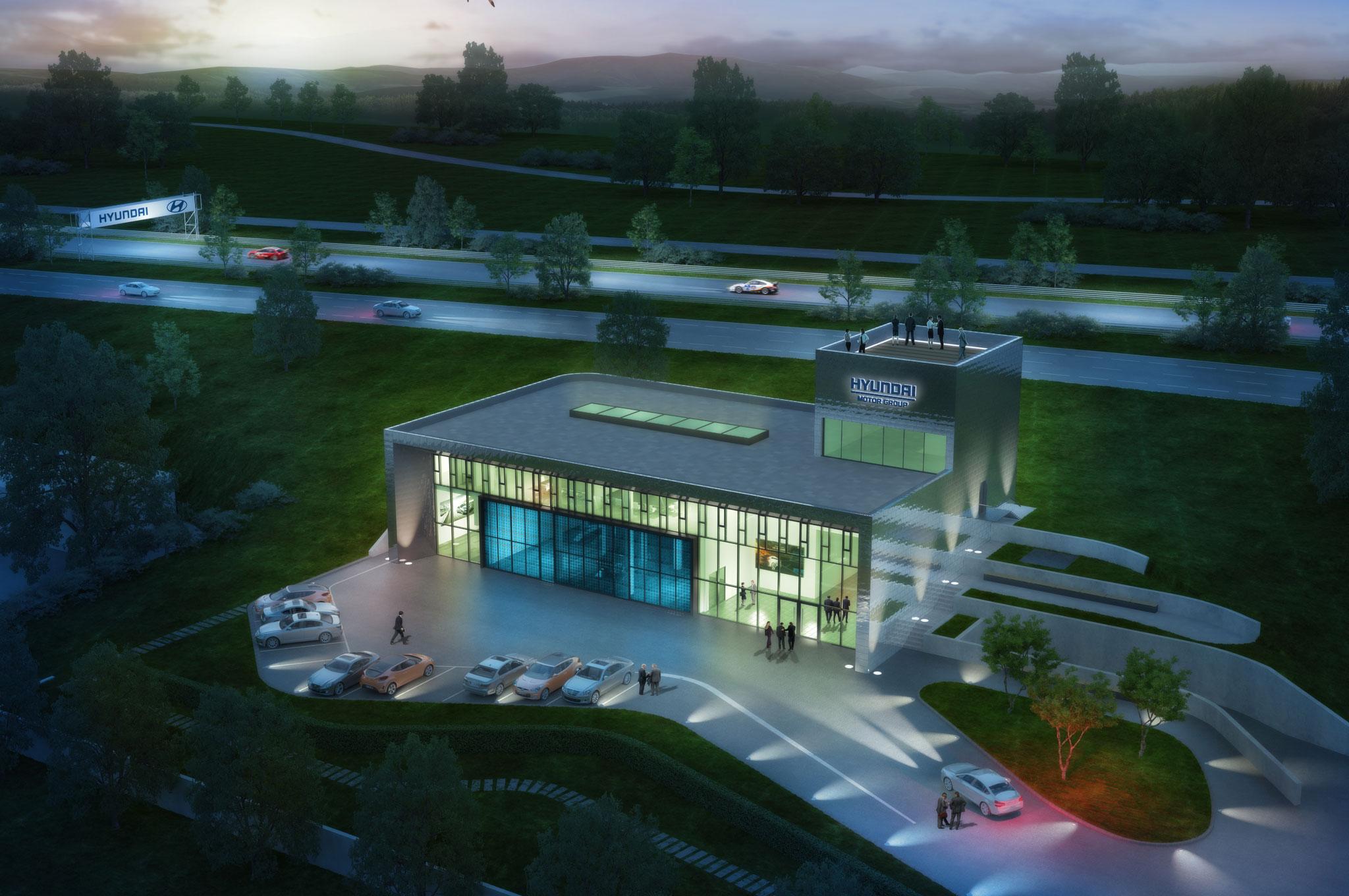 Hyundai Nurburgring Test Center Top View1