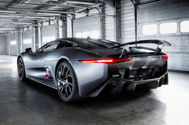 Jaguar C X75 Prototype Rear Three Quarter 660x438