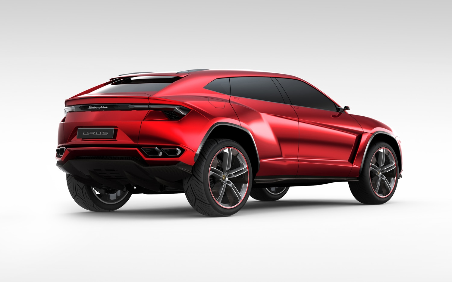 Lamborghini Urus Concept Rear Right Side View1