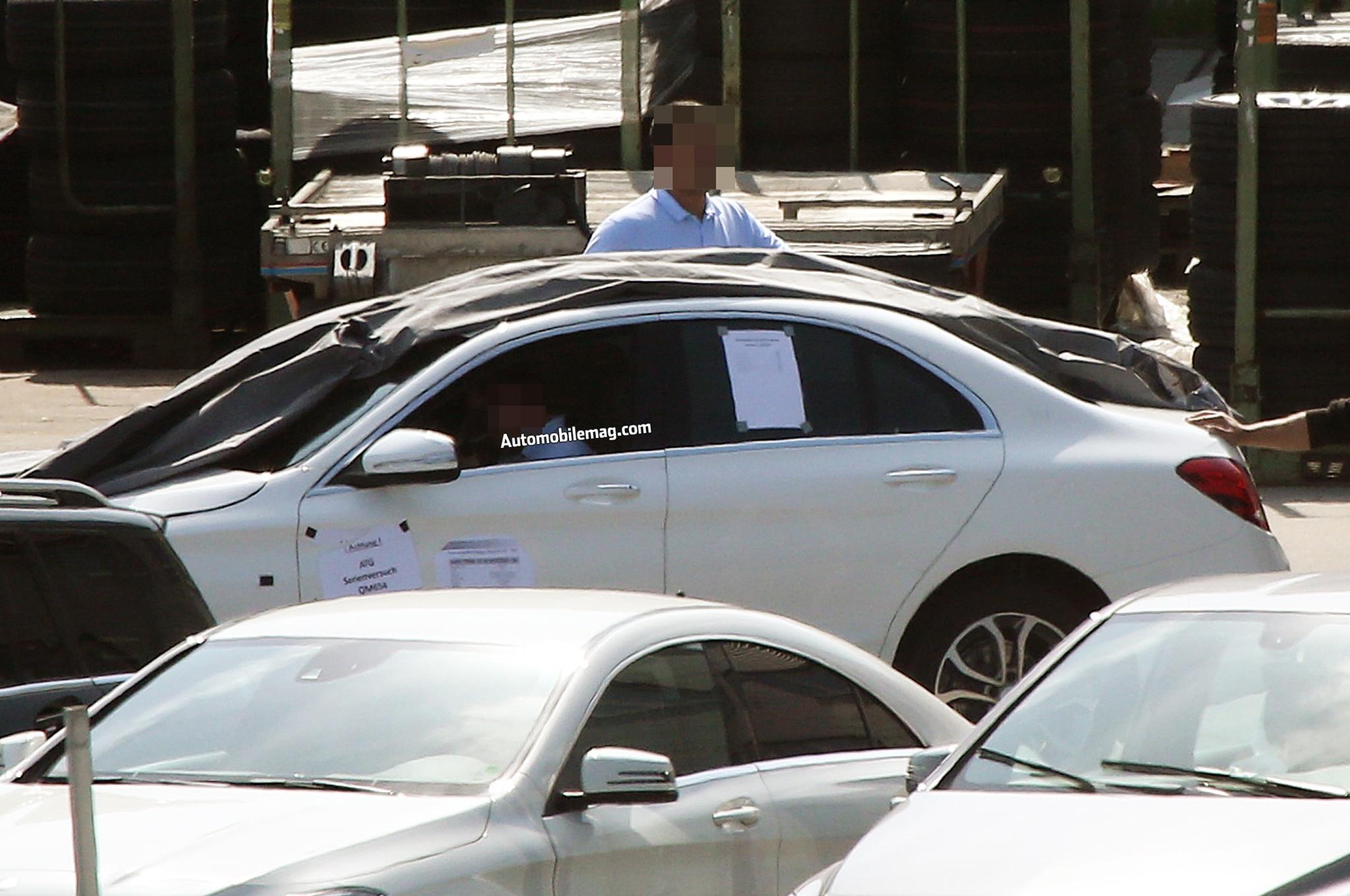 Mercedes Benz C Class Prototype Left Side 11