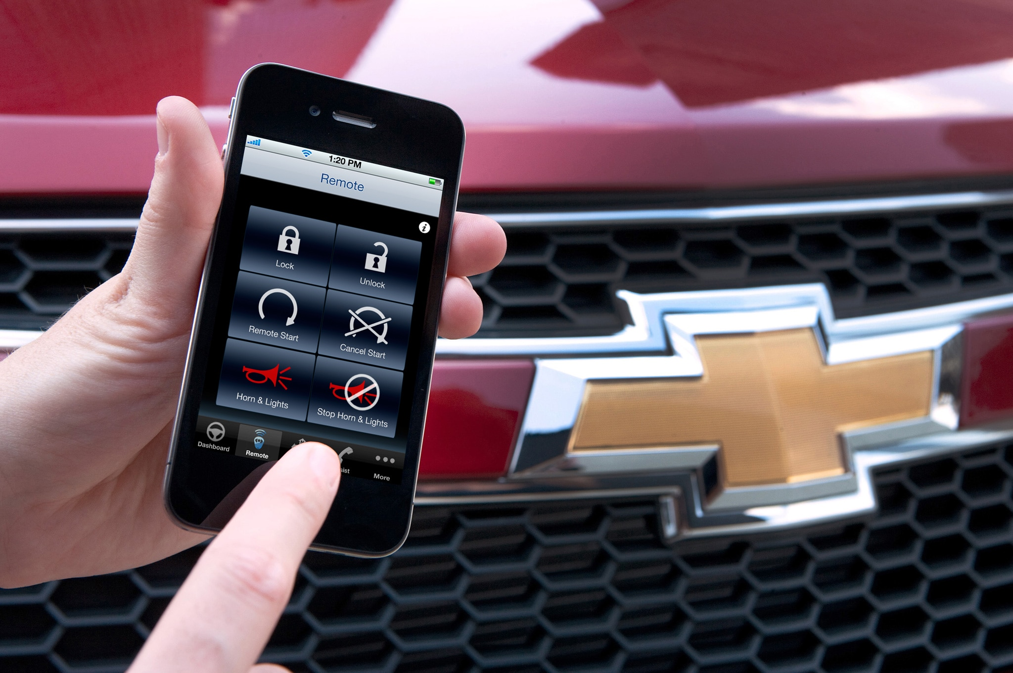 Onstar Remotelink App And Chevrolet Cruze1
