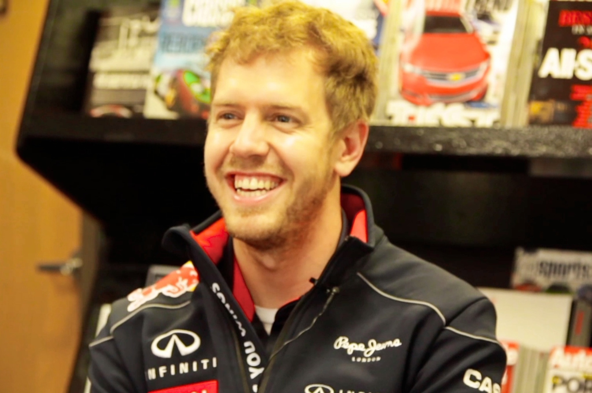 Sebastian Vettel At Automobile Magazine11