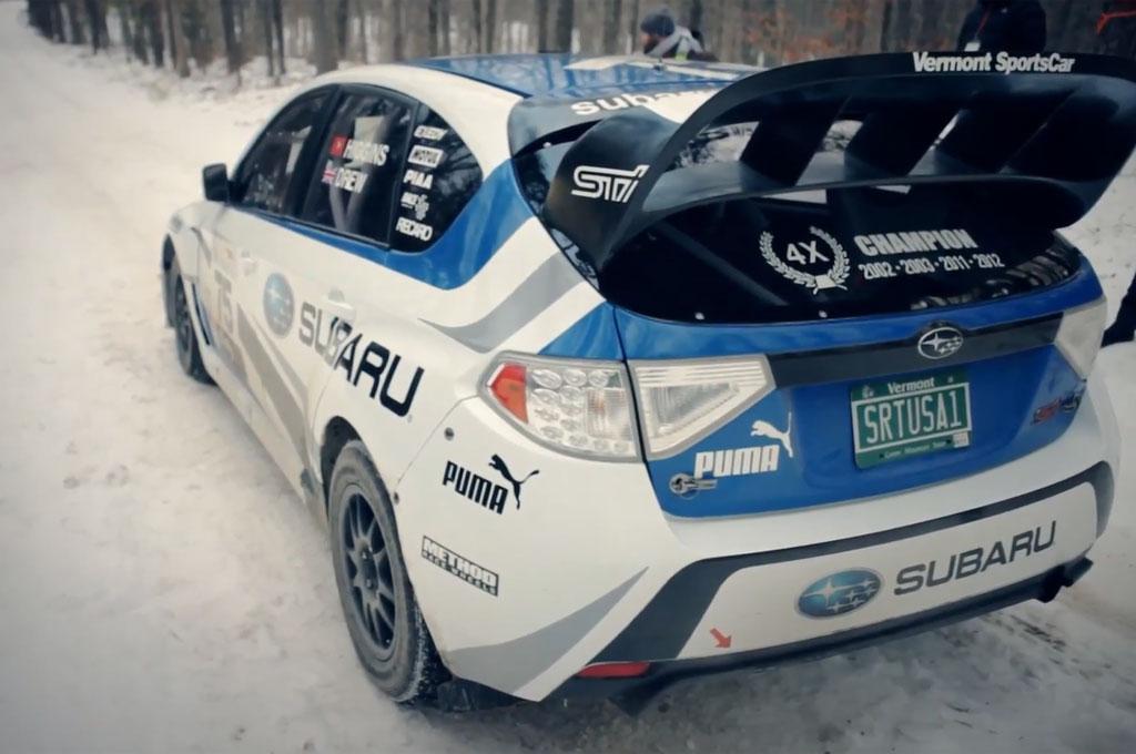 Subaru Impreza WRX Rally Car Start Line1