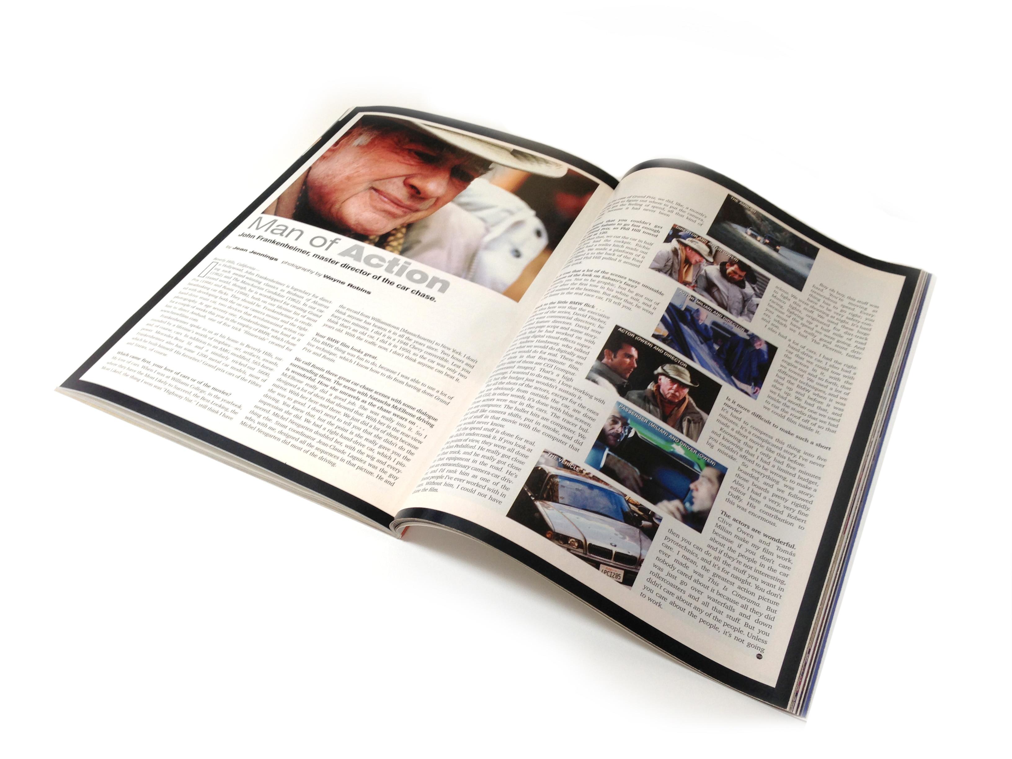 Original Interview John Frankenheimer July 2001 Issue