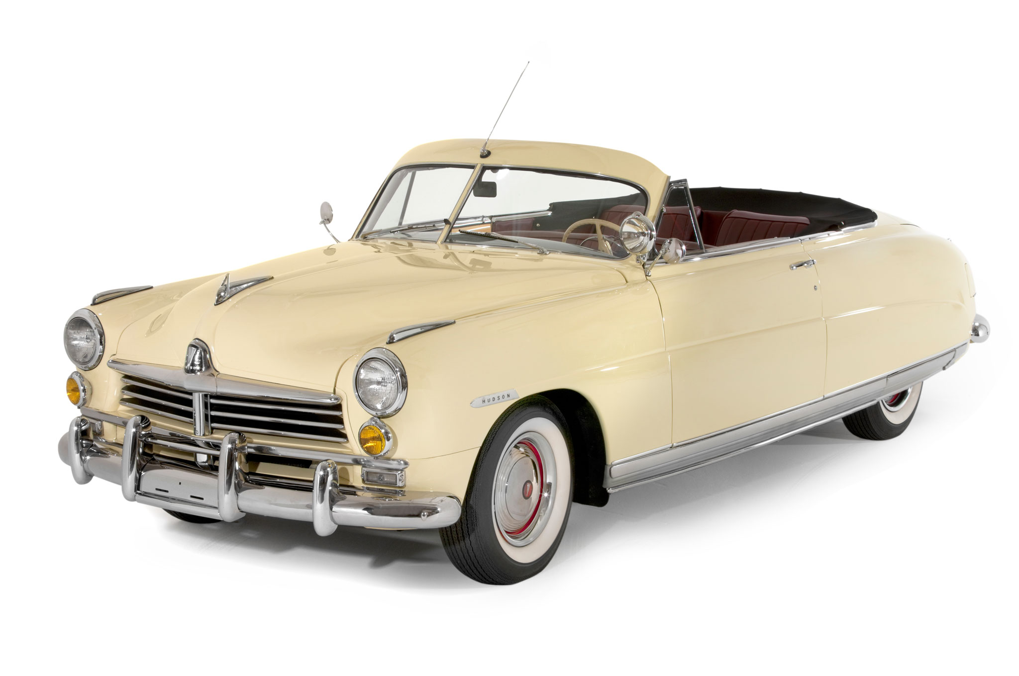 1949 Hudson Commodore Custom Convertible Front Left View1