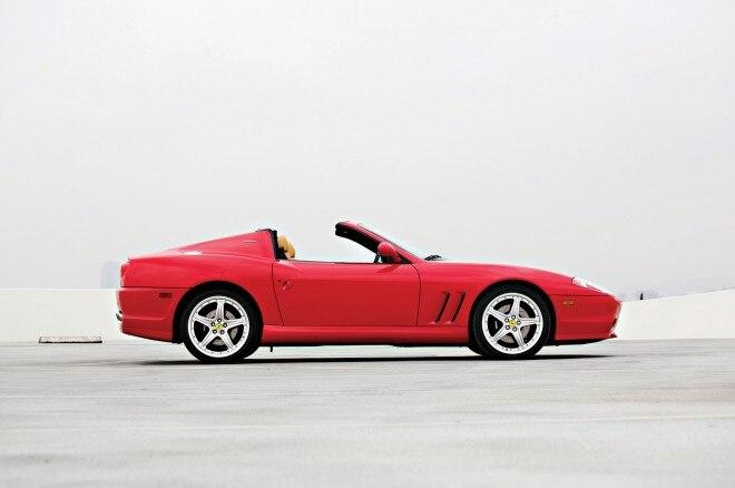 2005 Ferrari Superamerica Right Side View 660x438