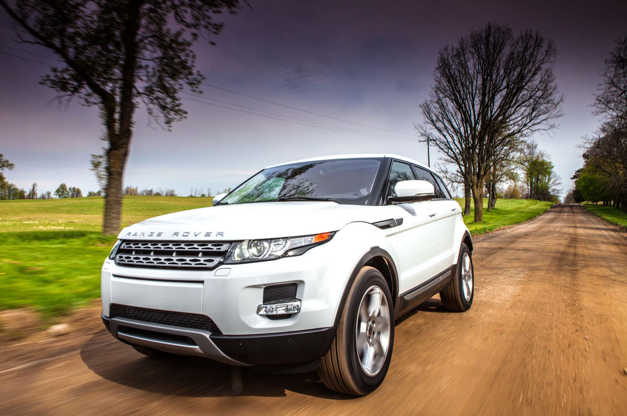 2012 land rover range rover evoque four seasons wrap up automobile magazine. Black Bedroom Furniture Sets. Home Design Ideas