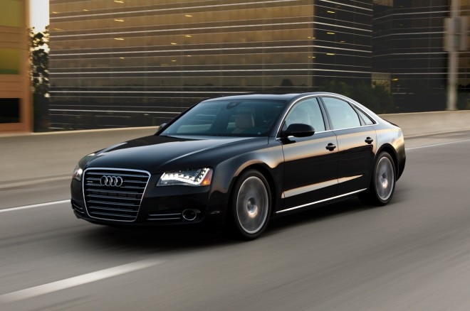2013 Audi A8 Front Three Quarter Motion1 660x438