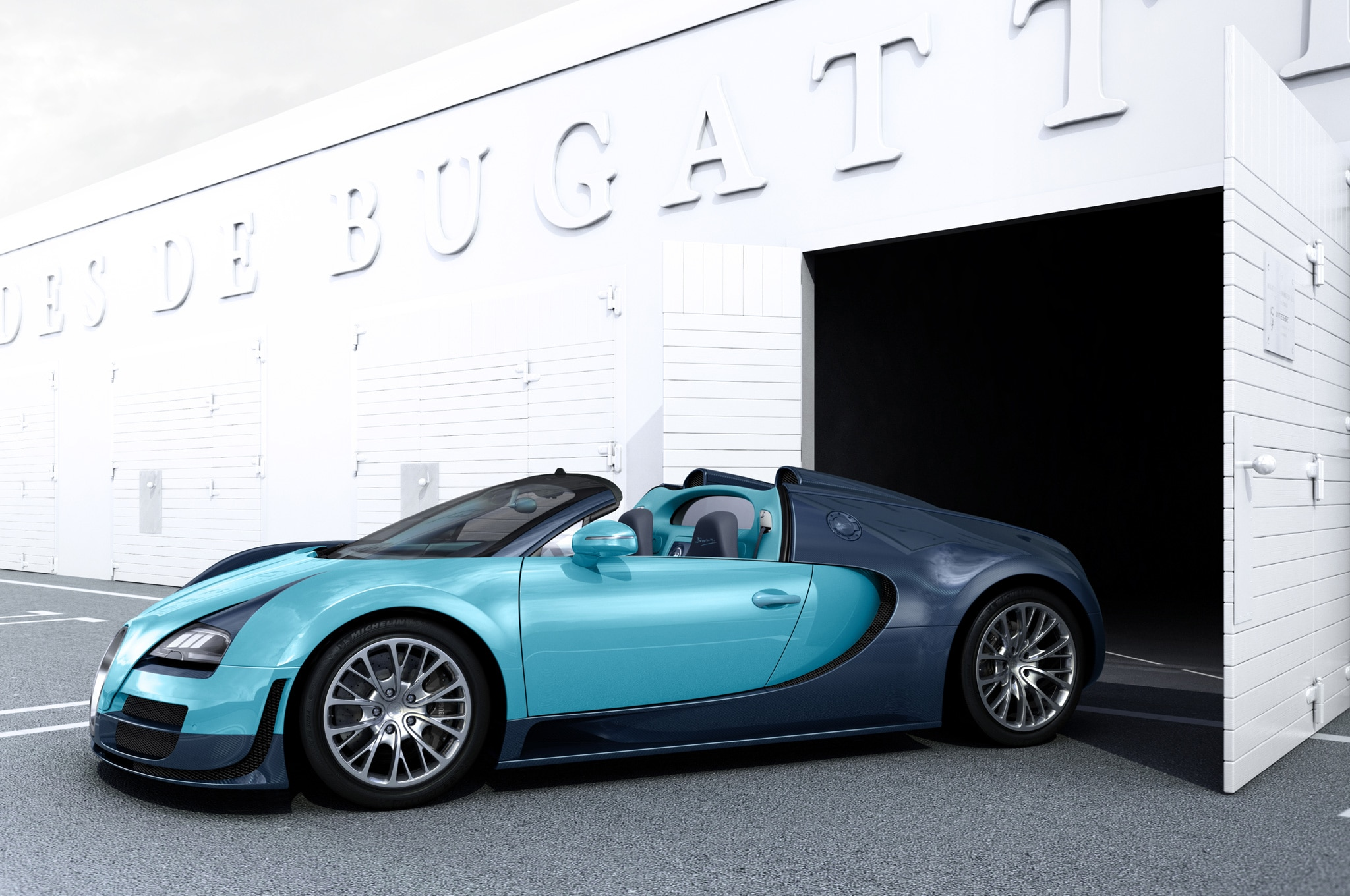 bugatti veyron legends series debuts at pebble beach concours. Black Bedroom Furniture Sets. Home Design Ideas