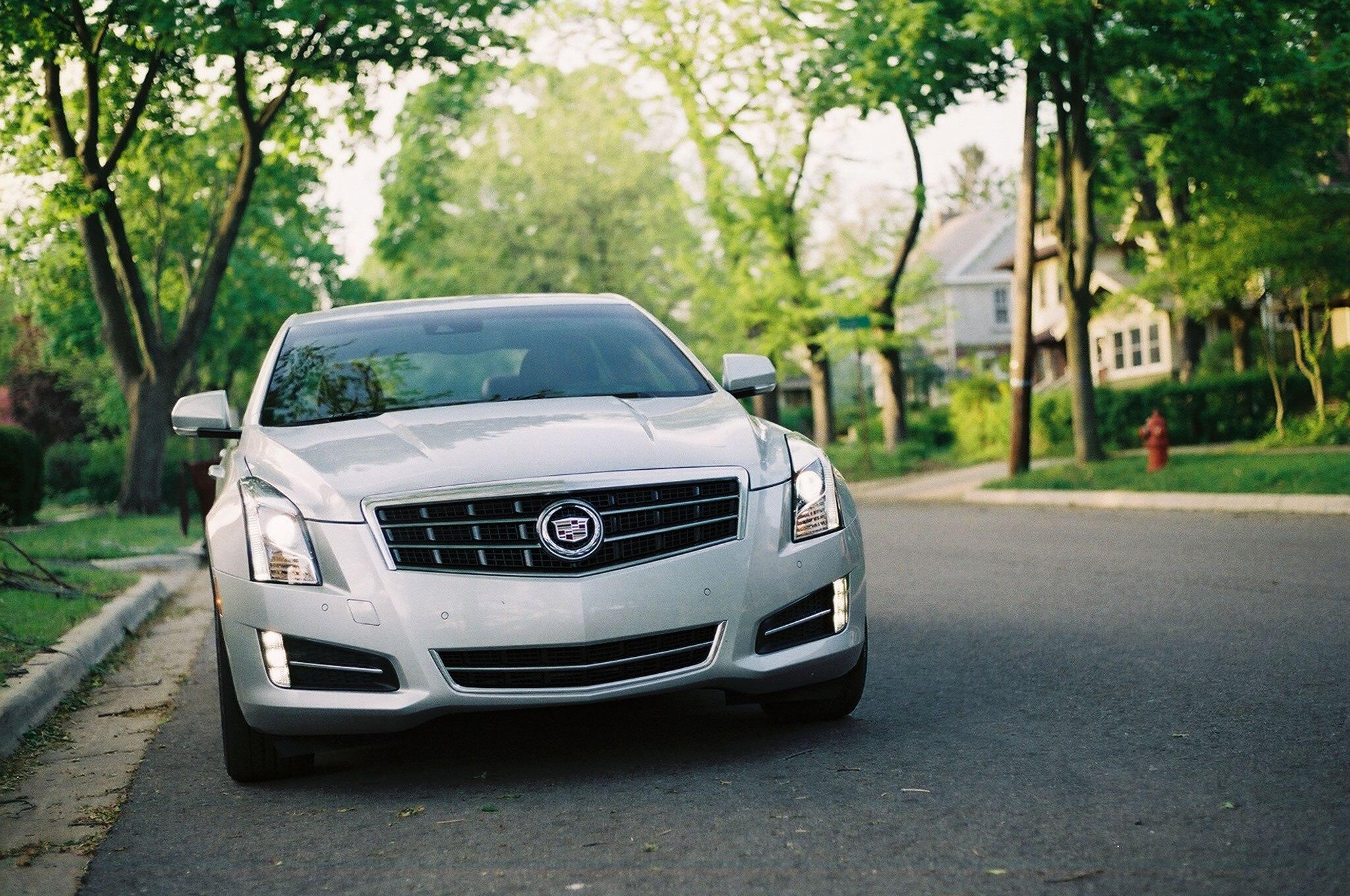 2013 Cadillac ATS Front View1