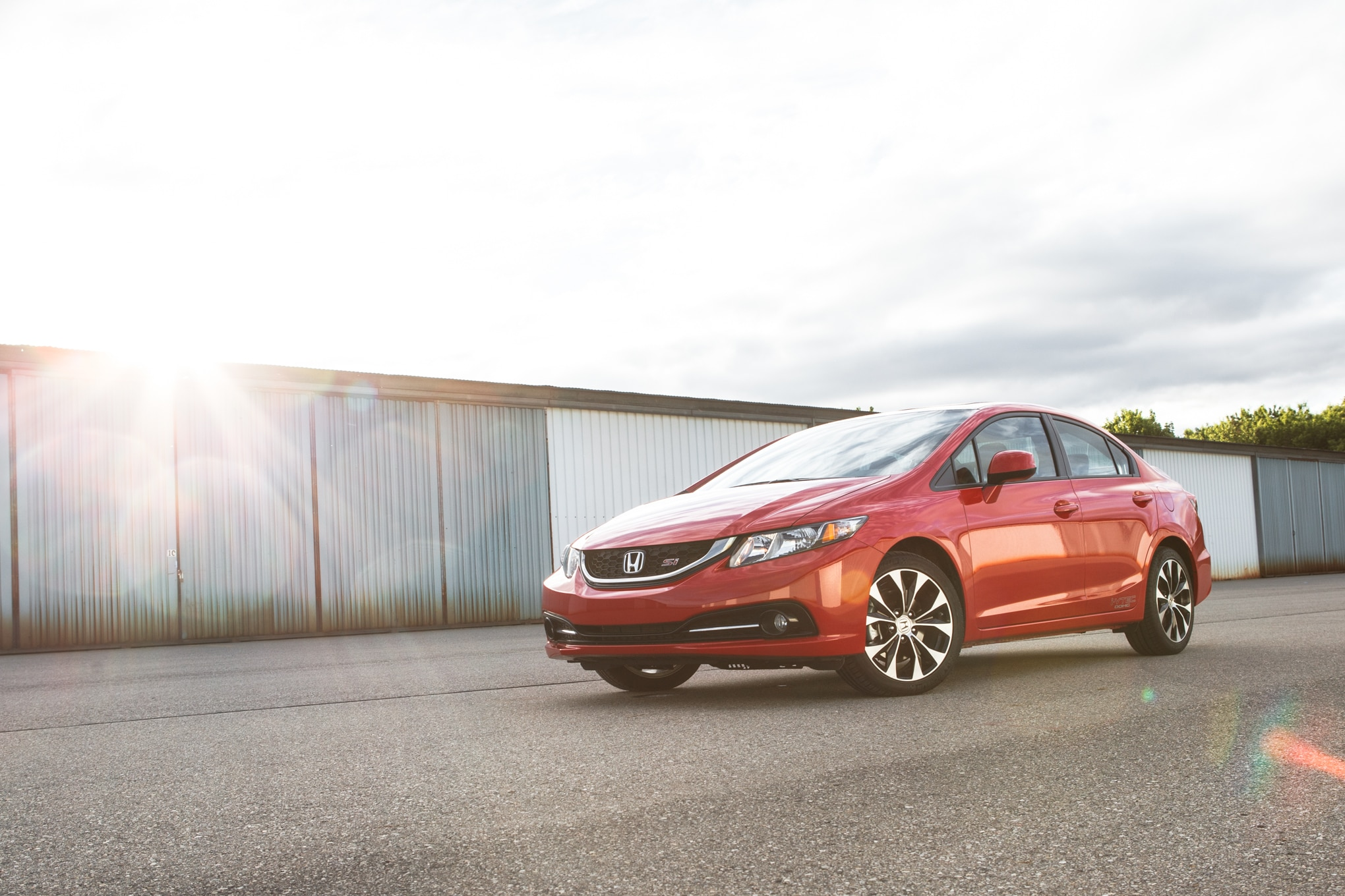 2013 Honda Civic Si Front Left View 11