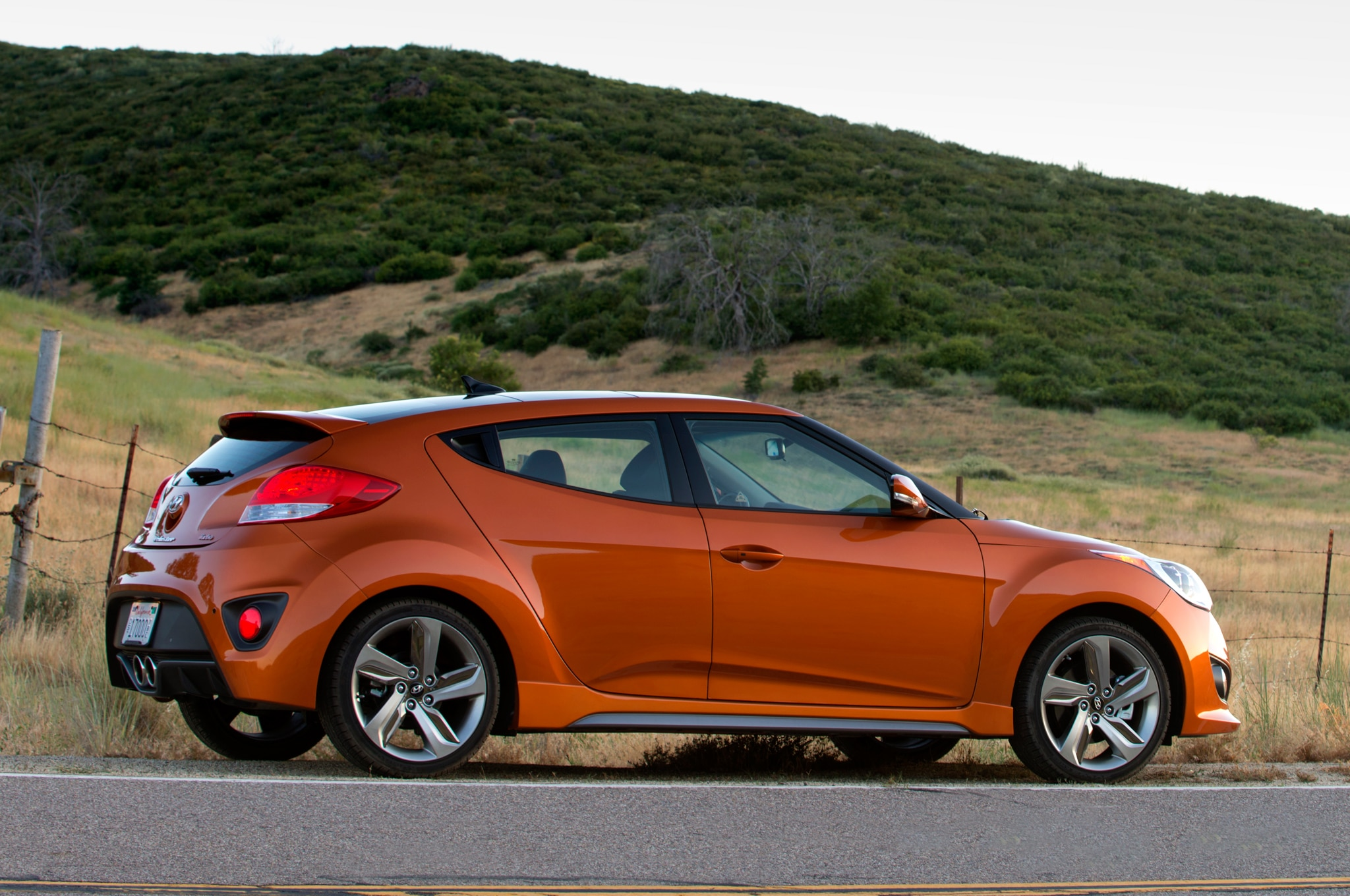 hyundai veloster modified to fend off zombies for comic con. Black Bedroom Furniture Sets. Home Design Ideas