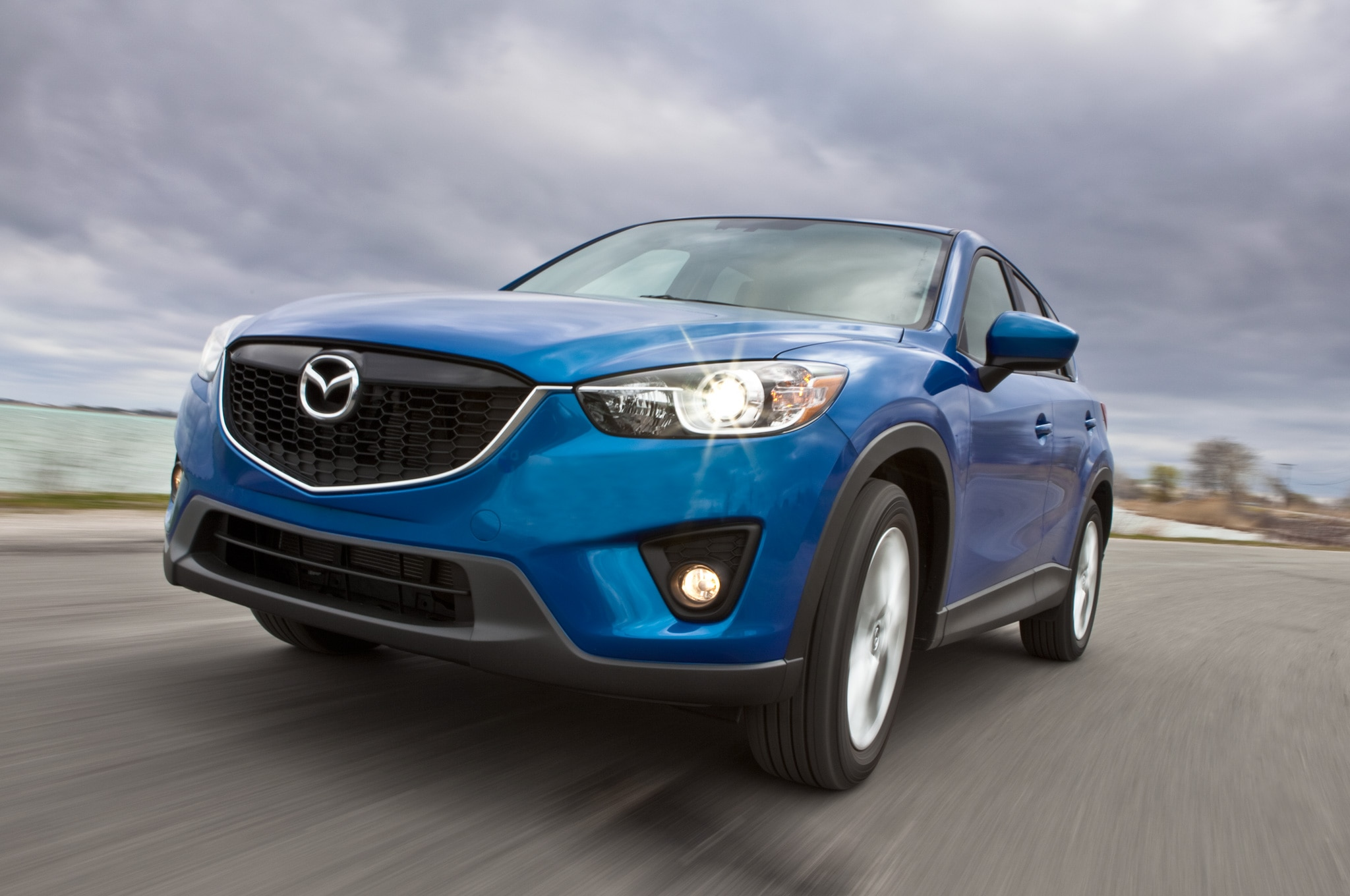 2013 Mazda CX 5 Grand Touring Front Left View1