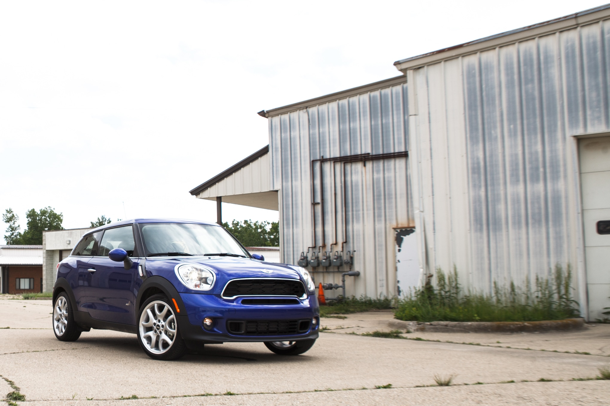 2013 Mini Cooper Paceman S Front Right View 11