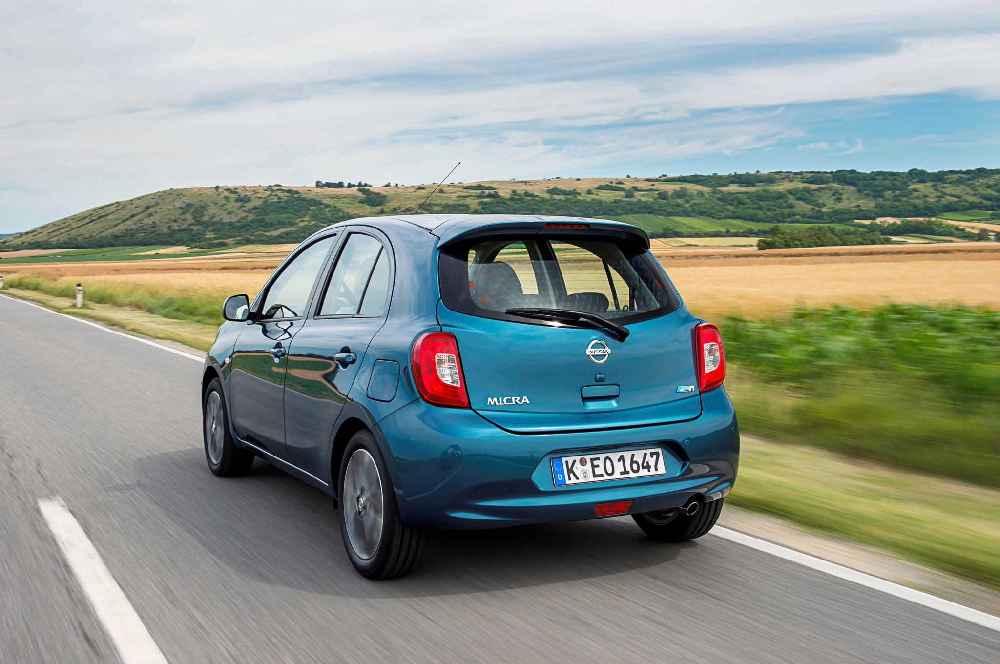 2013 Nissan Micra Left Rear Driving1