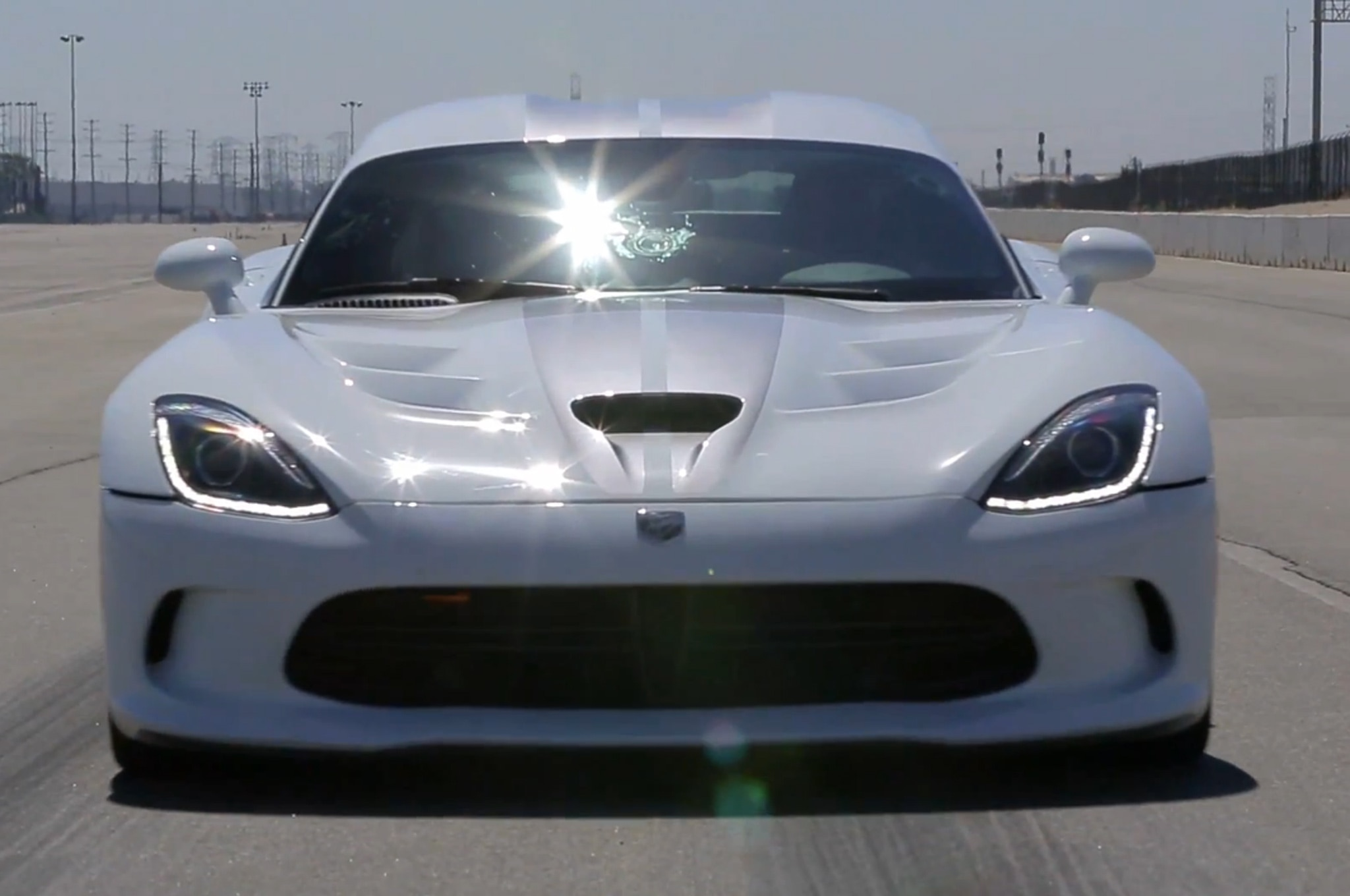 2013 SRT Viper Tested On J Turn Front View1