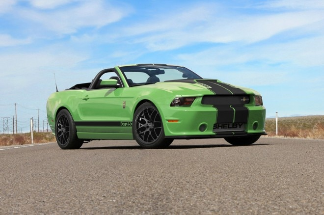 2013 Shelby GT350 Convertible Front Three Quarter1 660x438