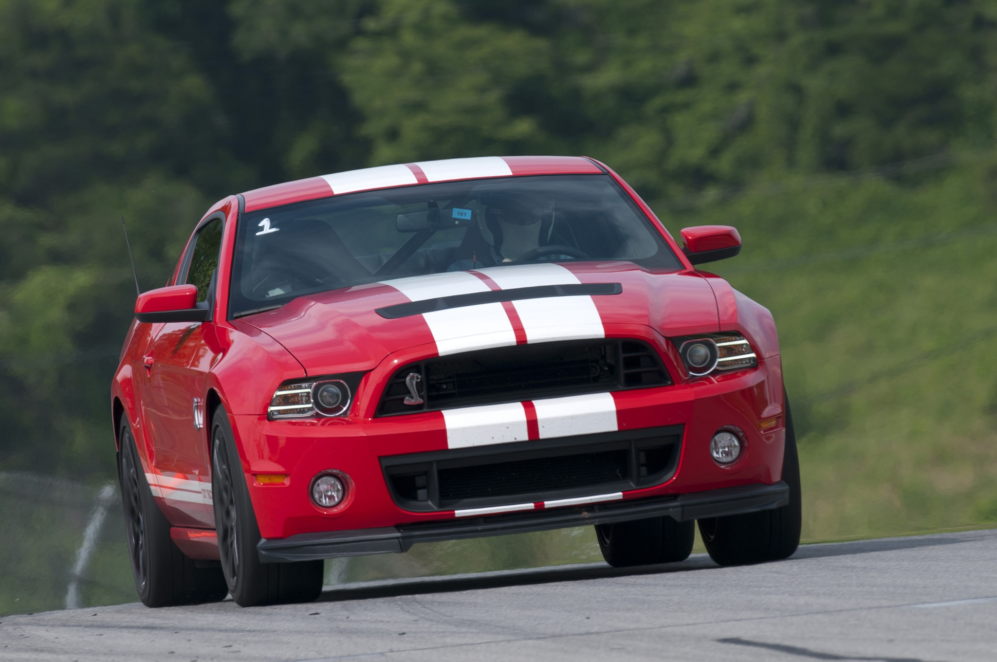 2013 Ford Shelby Gt500 Front View