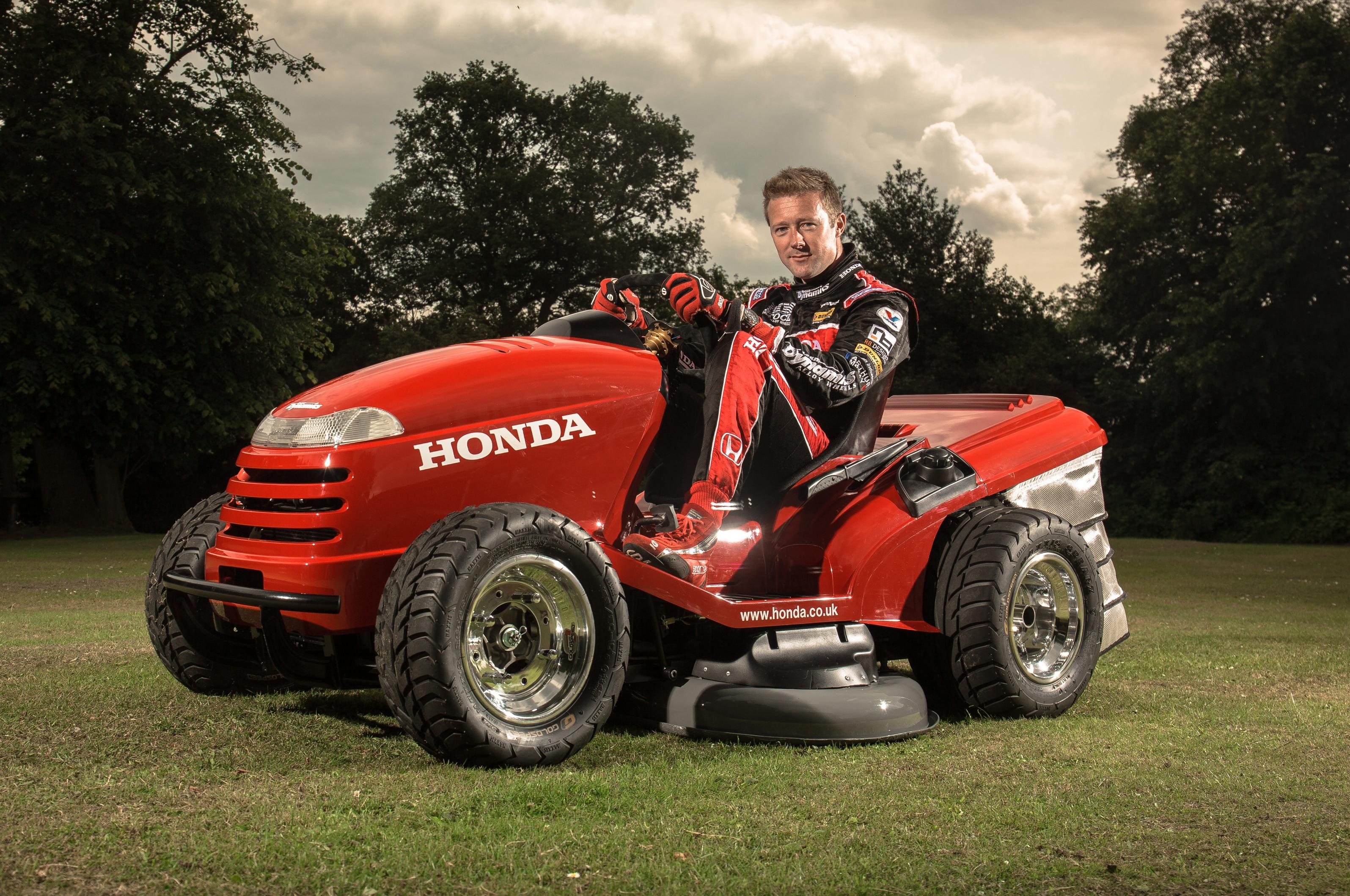 Honda Builds Crazy 135 Mph Lawn Tractor