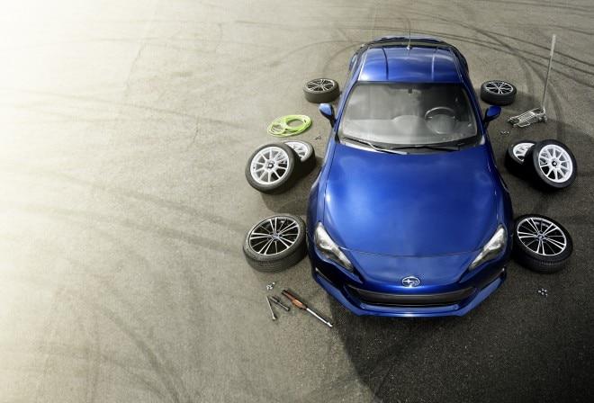 2013 Subaru Brz With Tires 660x448