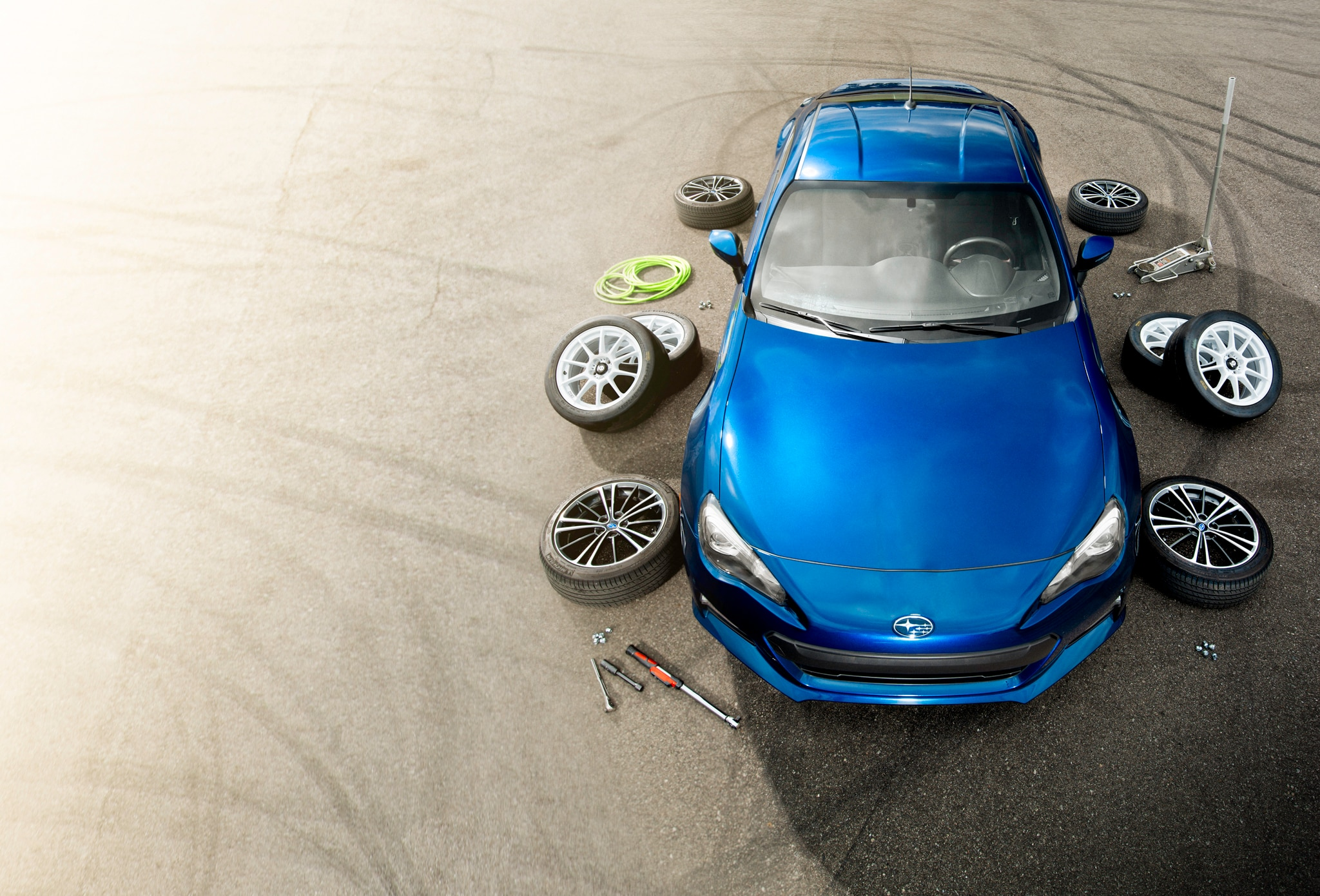 2013 Subaru Brz With Tires