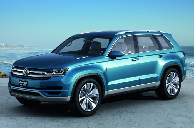 2013 Vw Crossblue Concept Front Three Quarters1 660x438