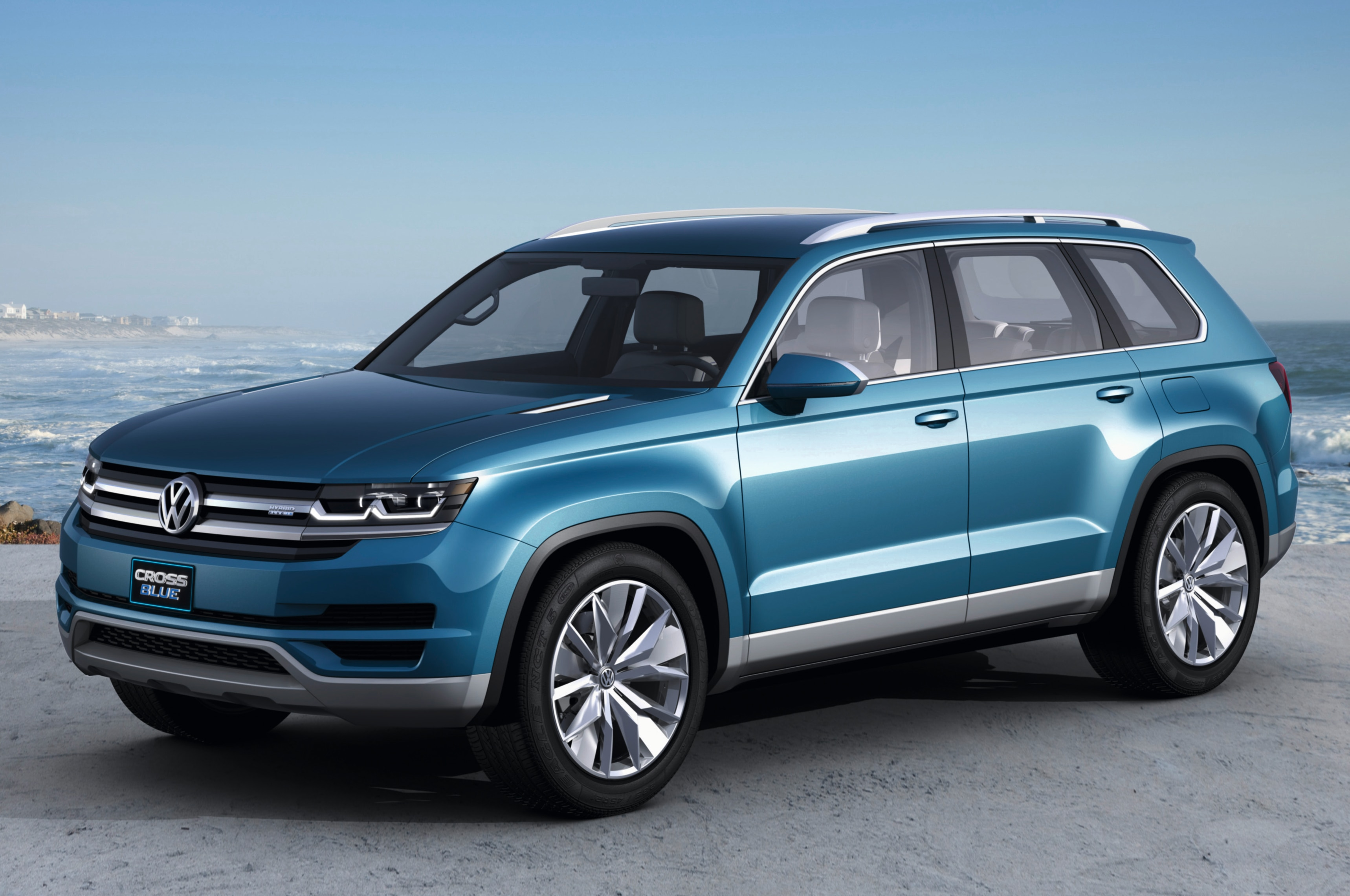 2013 Vw Crossblue Concept Front Three Quarters1