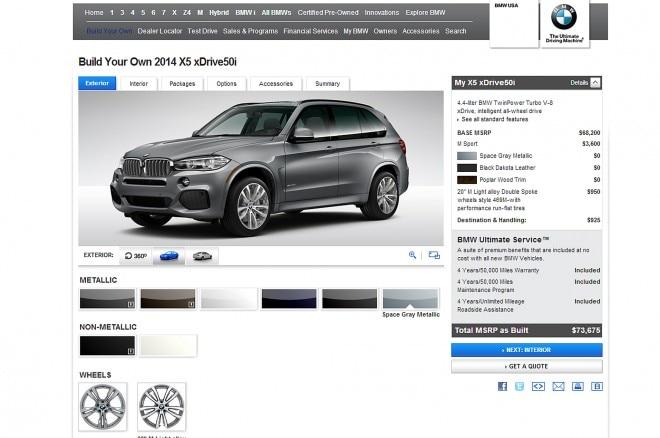 2014 BMW X5 XDrive50i BYO 11 660x438