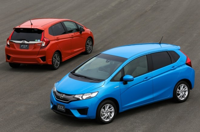 2014 Honda Fit Front And Rear Views1 660x438