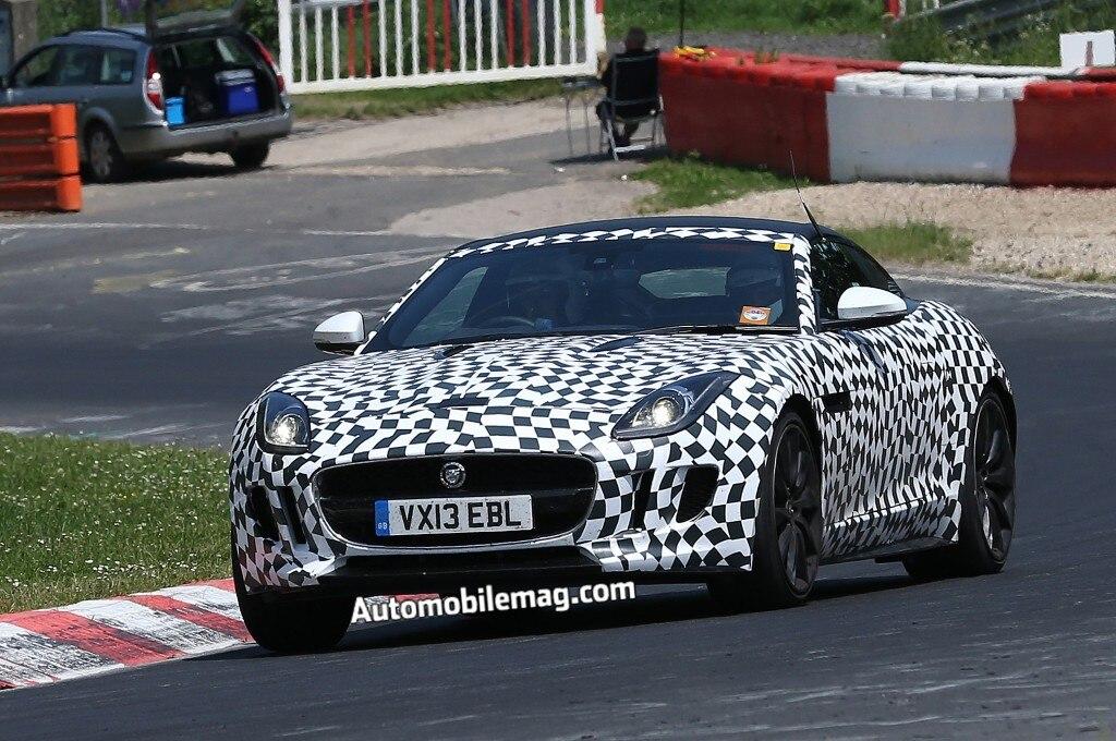 2014 Jaguar F Type Coupe Front 1024x6801