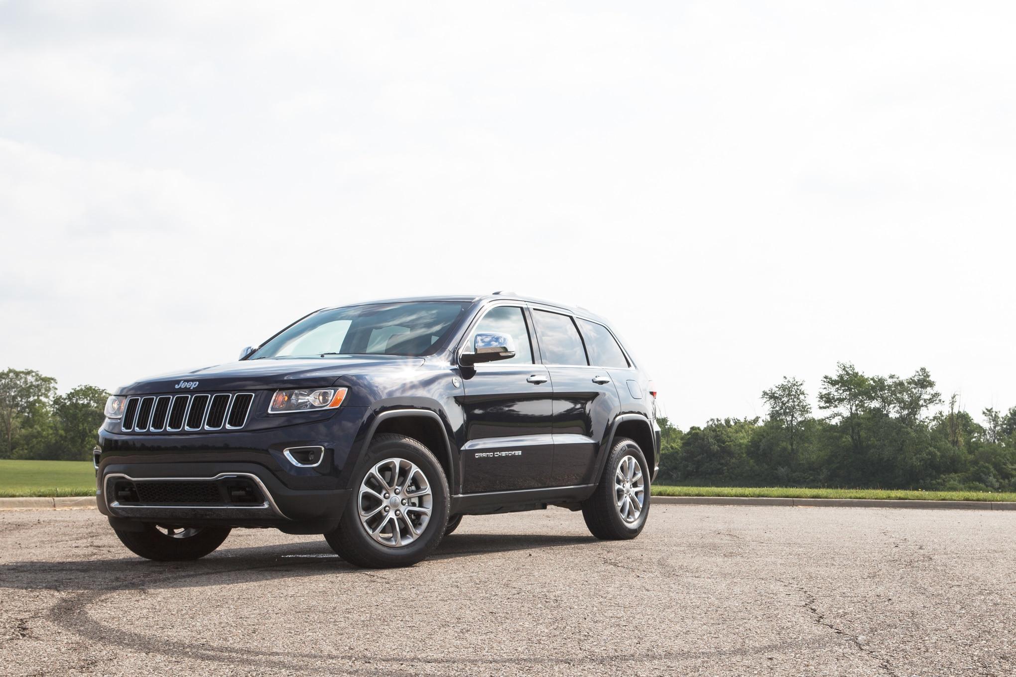 2014 jeep grand cherokee limited 4x4 editors 39 notebook automobile magazine. Black Bedroom Furniture Sets. Home Design Ideas