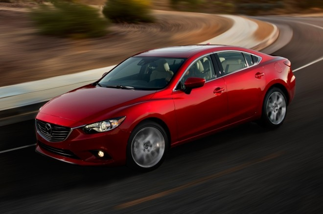 2014 Mazda6 Sedan Front Three Quarters View In Corner1 660x438