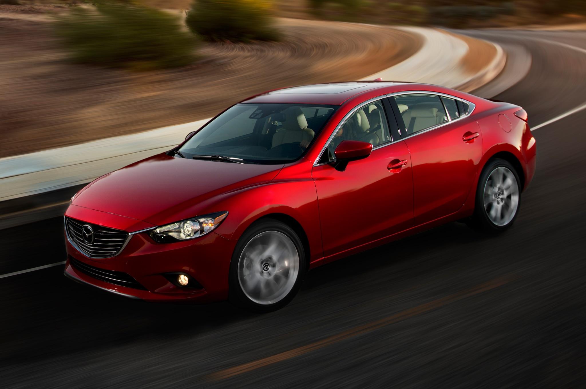 2014 Mazda6 Sedan Front Three Quarters View In Corner1