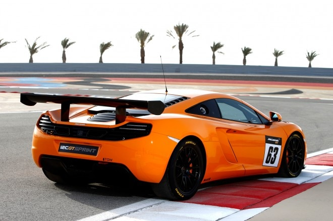 2014 McLaren 12C GT Sprint Rear Three Quarter1 660x438