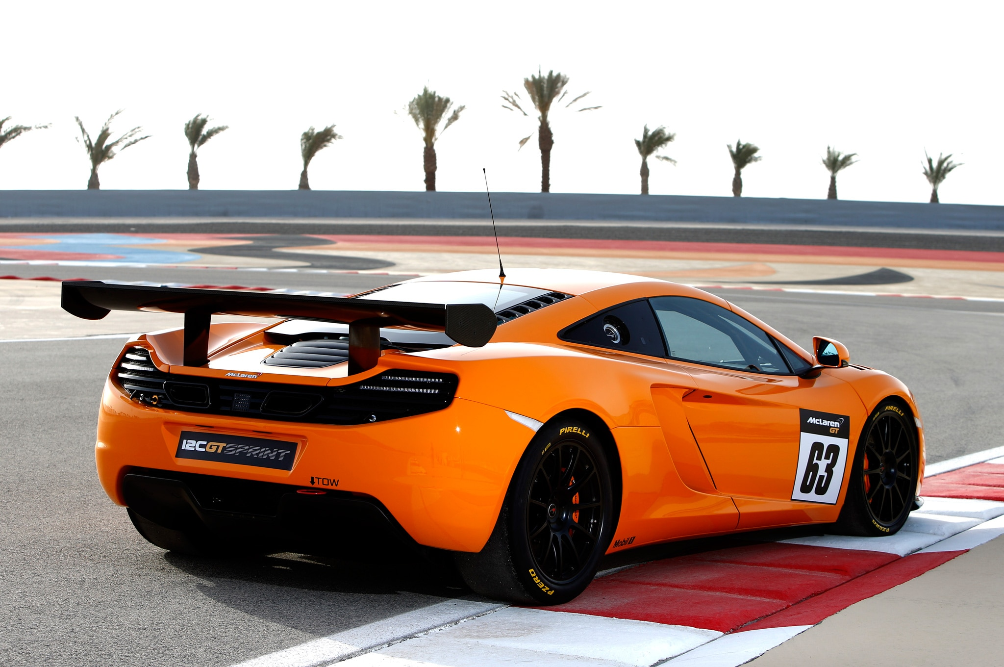 2014 McLaren 12C GT Sprint Rear Three Quarter1
