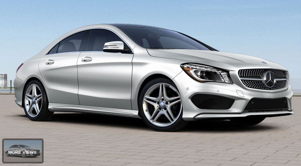 2014 mercedes cla250 build your own feature goes live. Black Bedroom Furniture Sets. Home Design Ideas