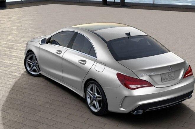 2014 Mercedes Benz CLA250 Configurator 47520 Rear1 660x438