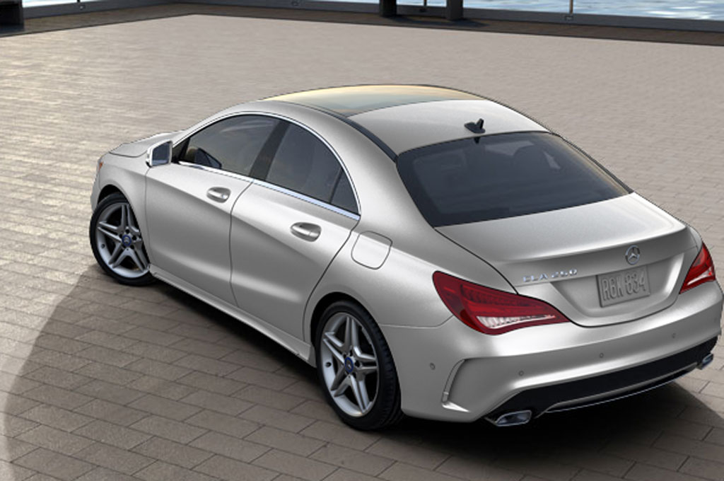 2014 Mercedes Benz CLA250 Configurator 47520 Rear1