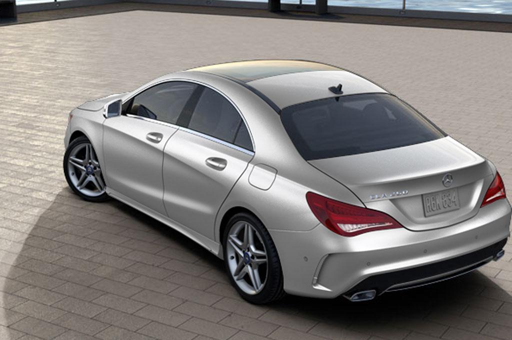 2014 Mercedes Benz CLA250 Configurator 47520 Rear1