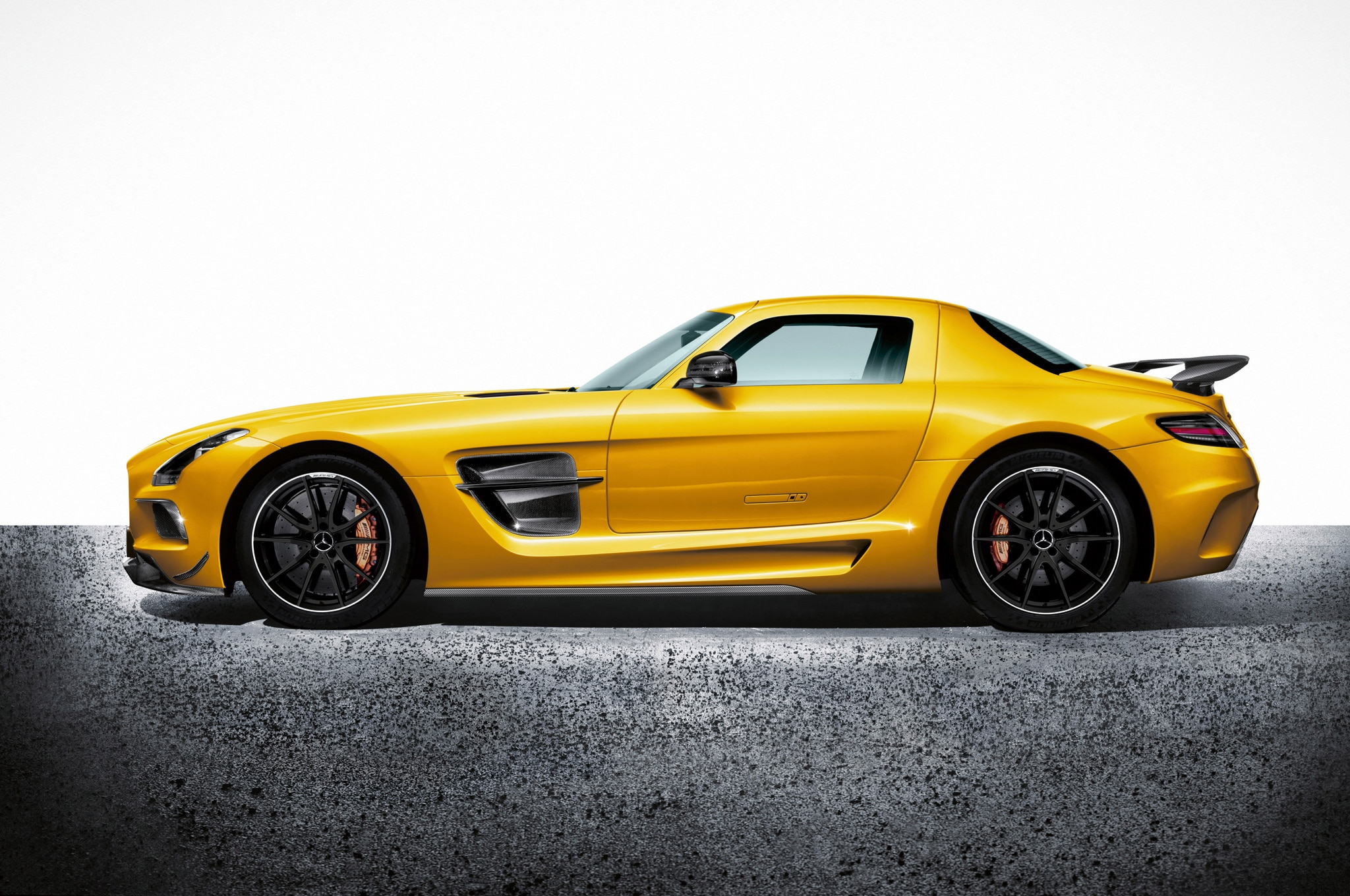 2014 Mercedes Benz SLS AMG Black Series Left Side1