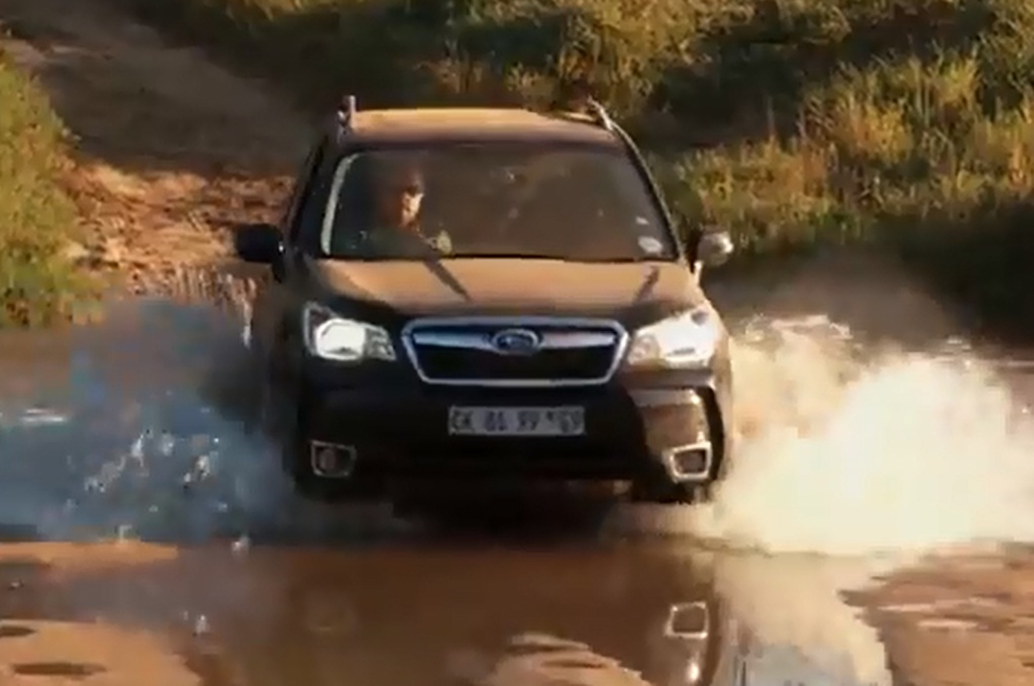 2014 Subaru Forester XT Fording Water1