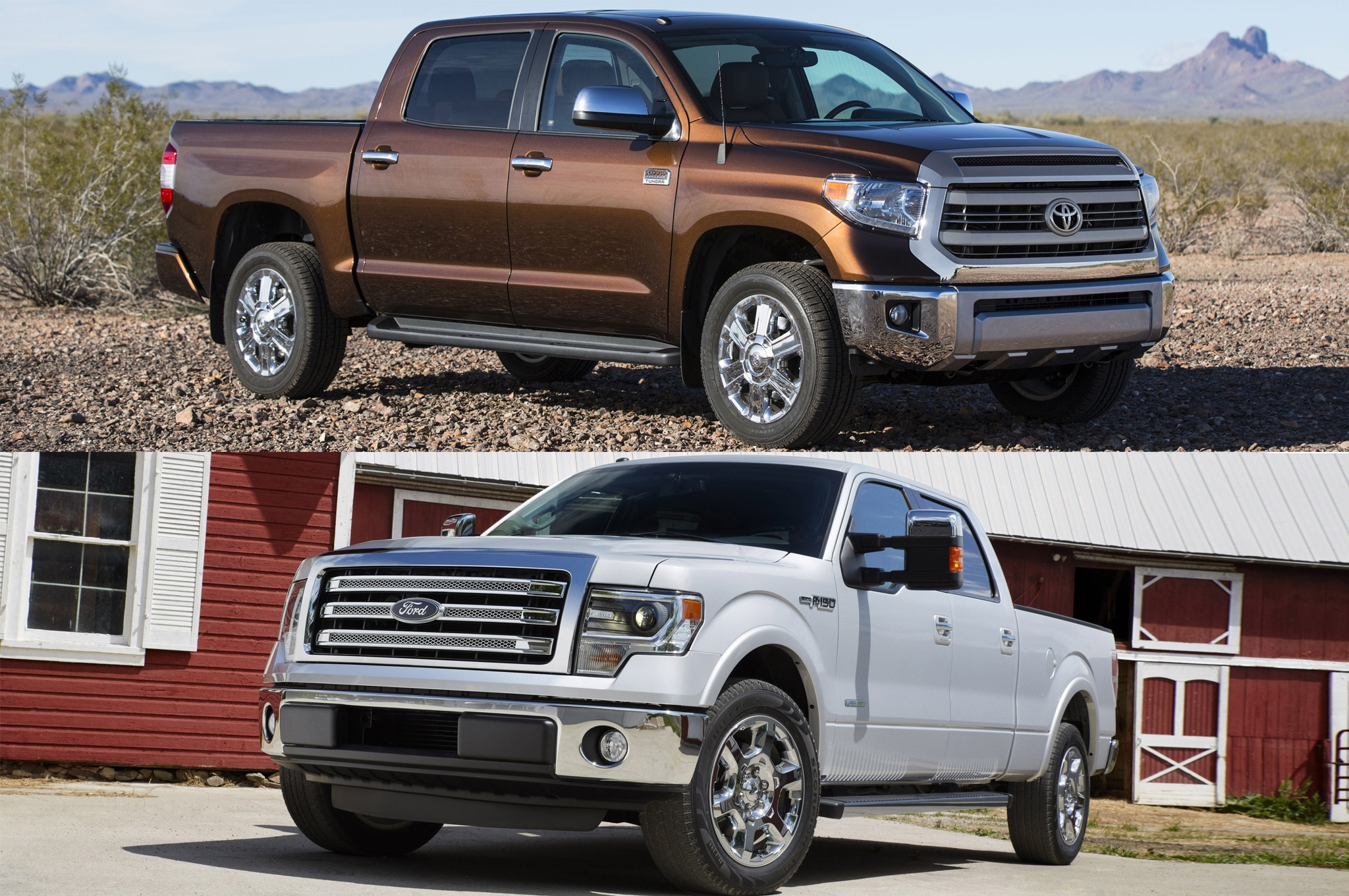 2014 Toyota Tundra And 2014 Ford F 1501