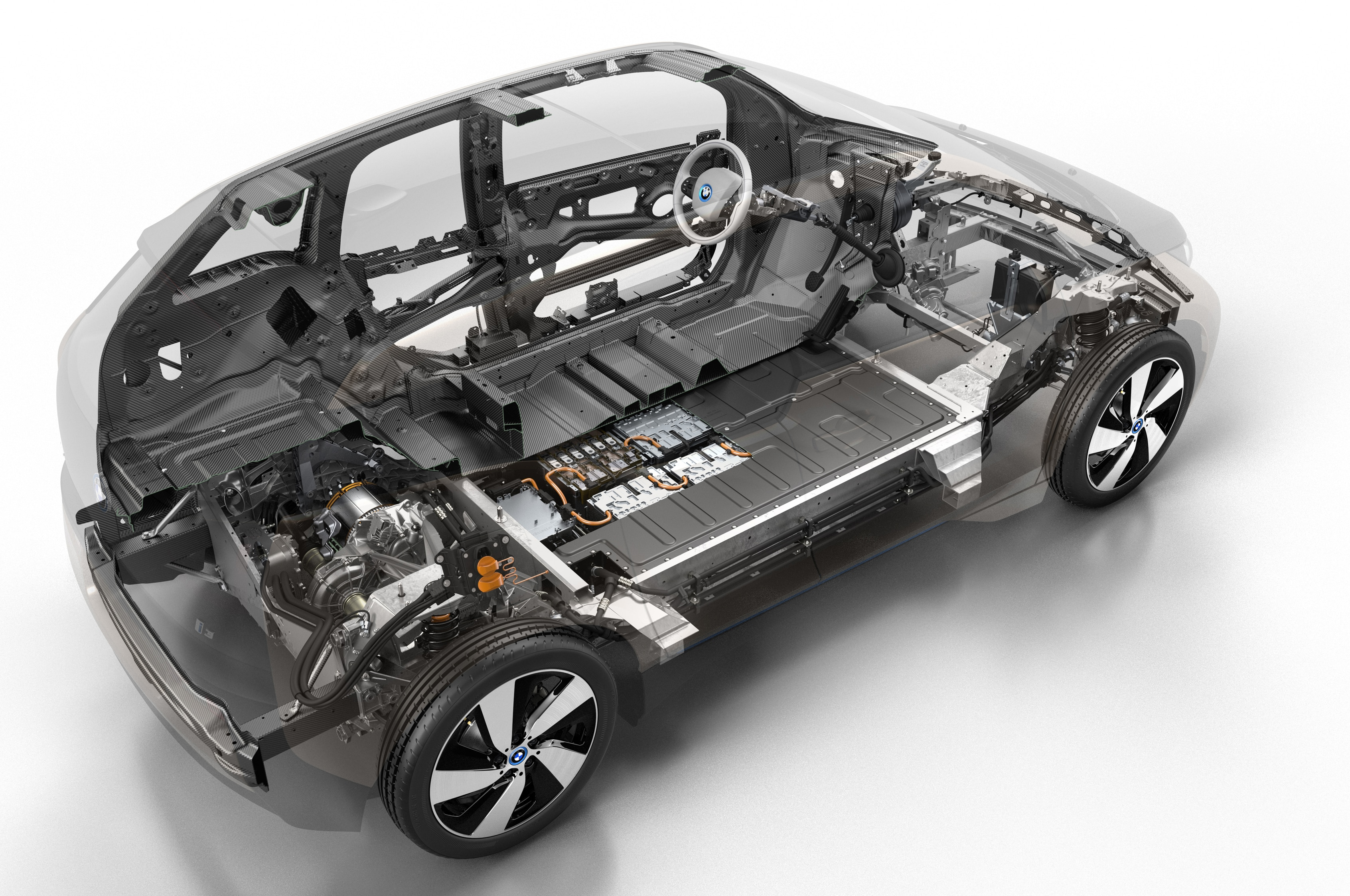 2014 Bmw I3 Chassis 11