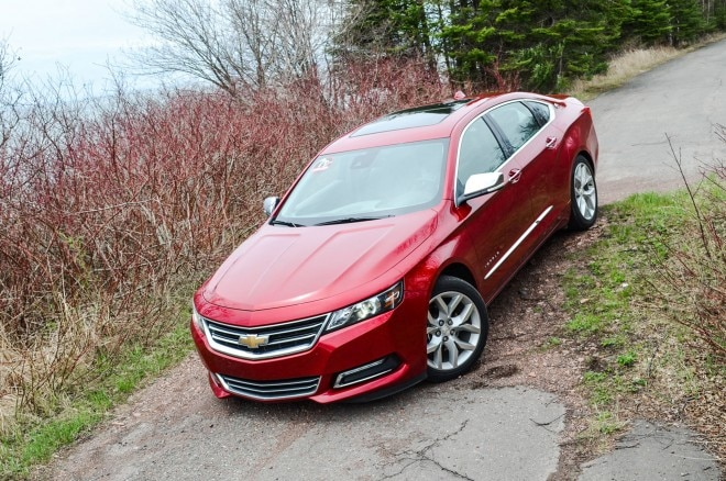 2014 Chevrolet Impala Front Three Quarters1 660x438