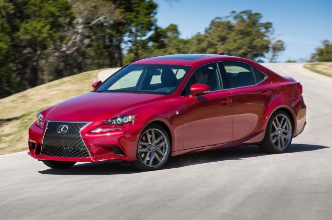 2014 Lexus Is350 F Sport Front Three Quarters1 660x438