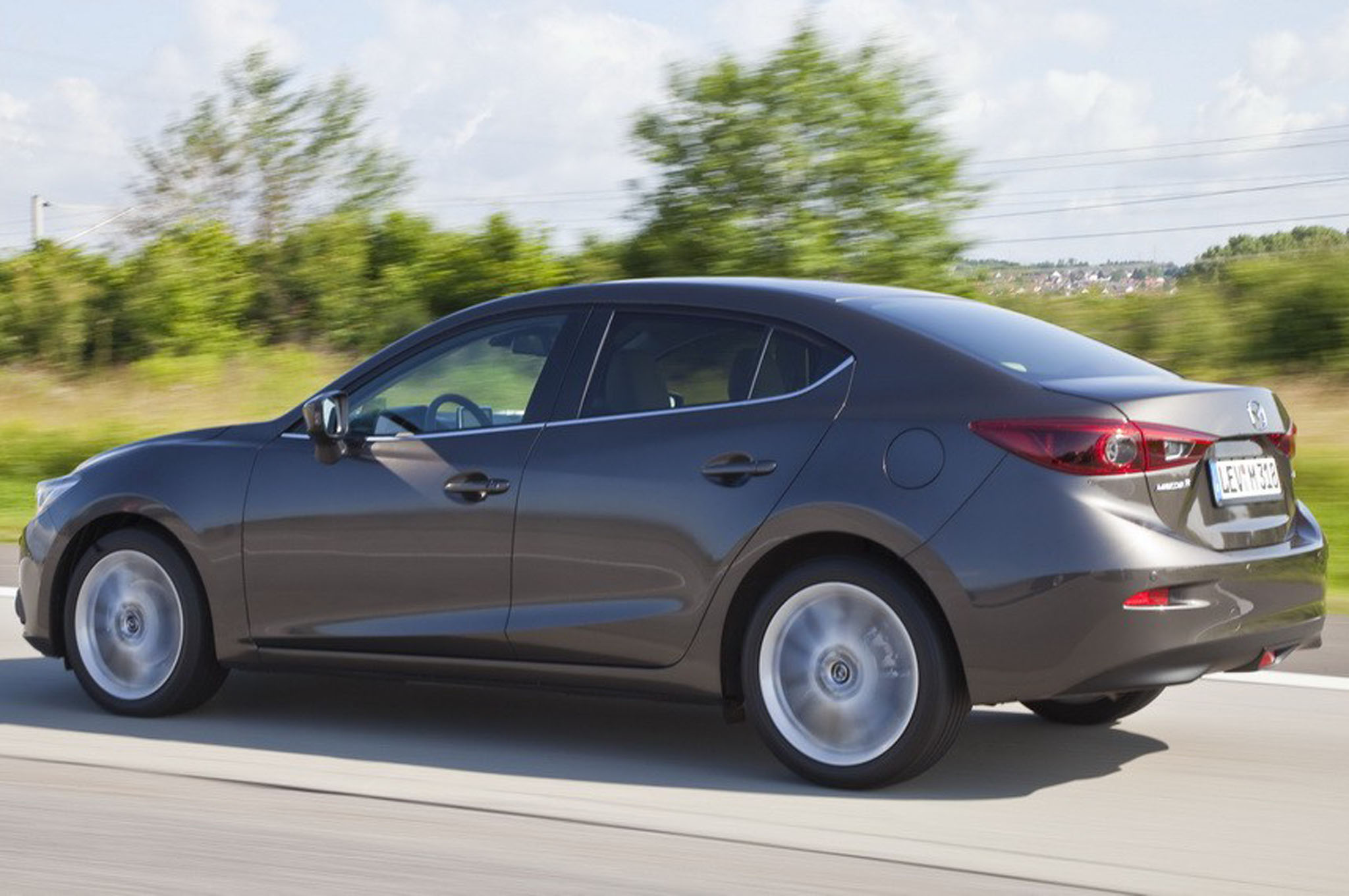 2014 Mazda 3 Rear Three Quarters1