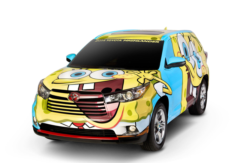 2014 Spongebob Toyota Highlander 11