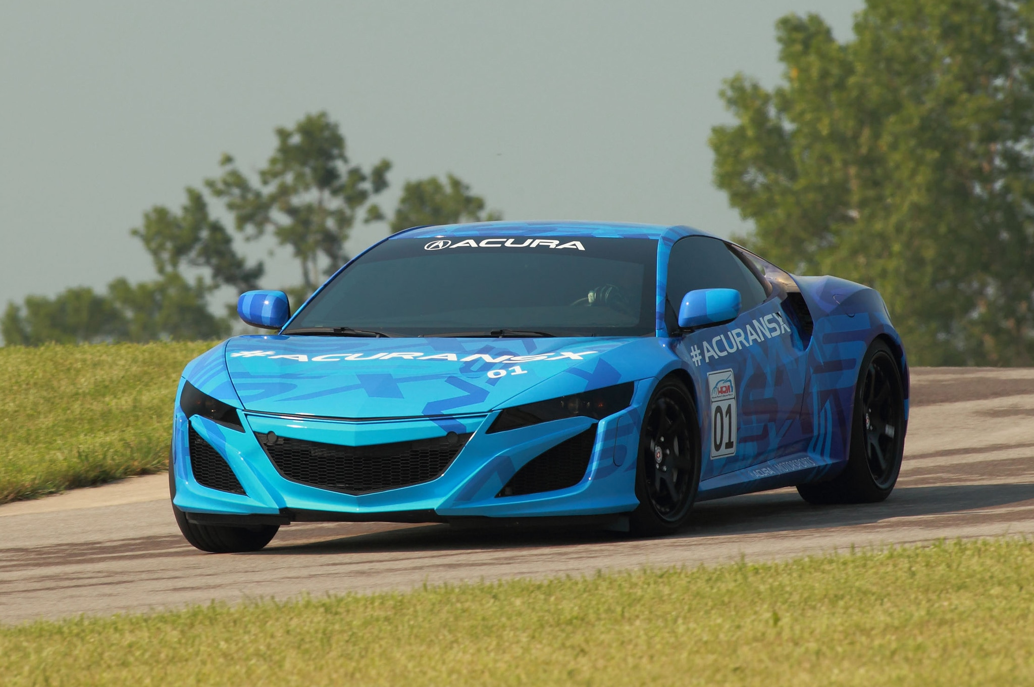 2015 Acura NSX Prototype On Mid Ohio11