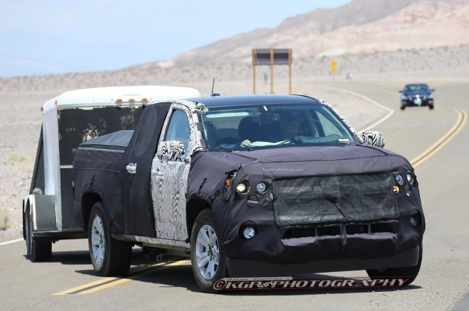 2015 Chevrolet Colorado Spied Front Three Quarter 41 660x438